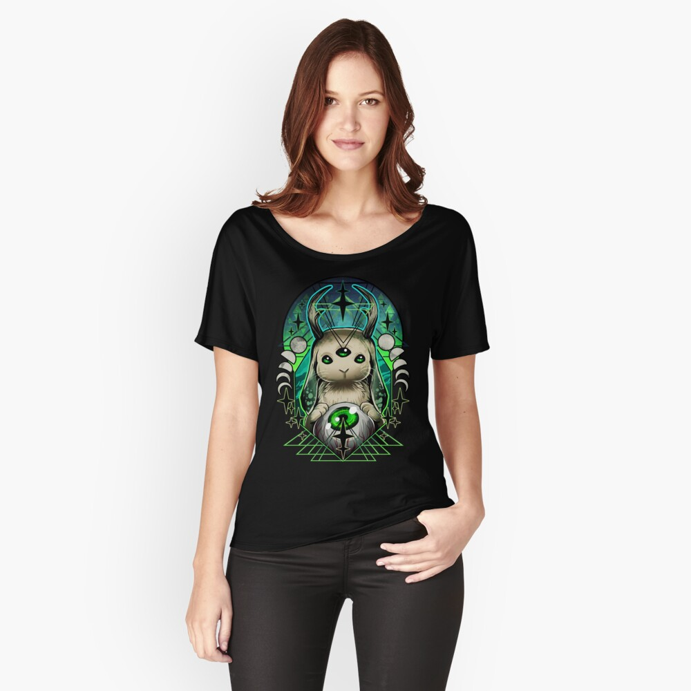 Space Bunny  Relaxed Fit T-Shirt