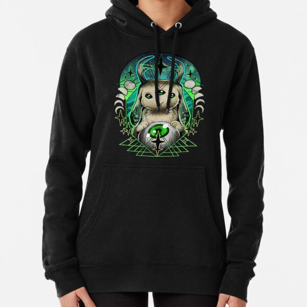 Space Bunny  Pullover Hoodie