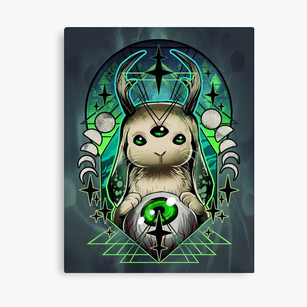 Space Bunny  Canvas Print