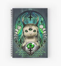 Space Bunny  Spiral Notebook