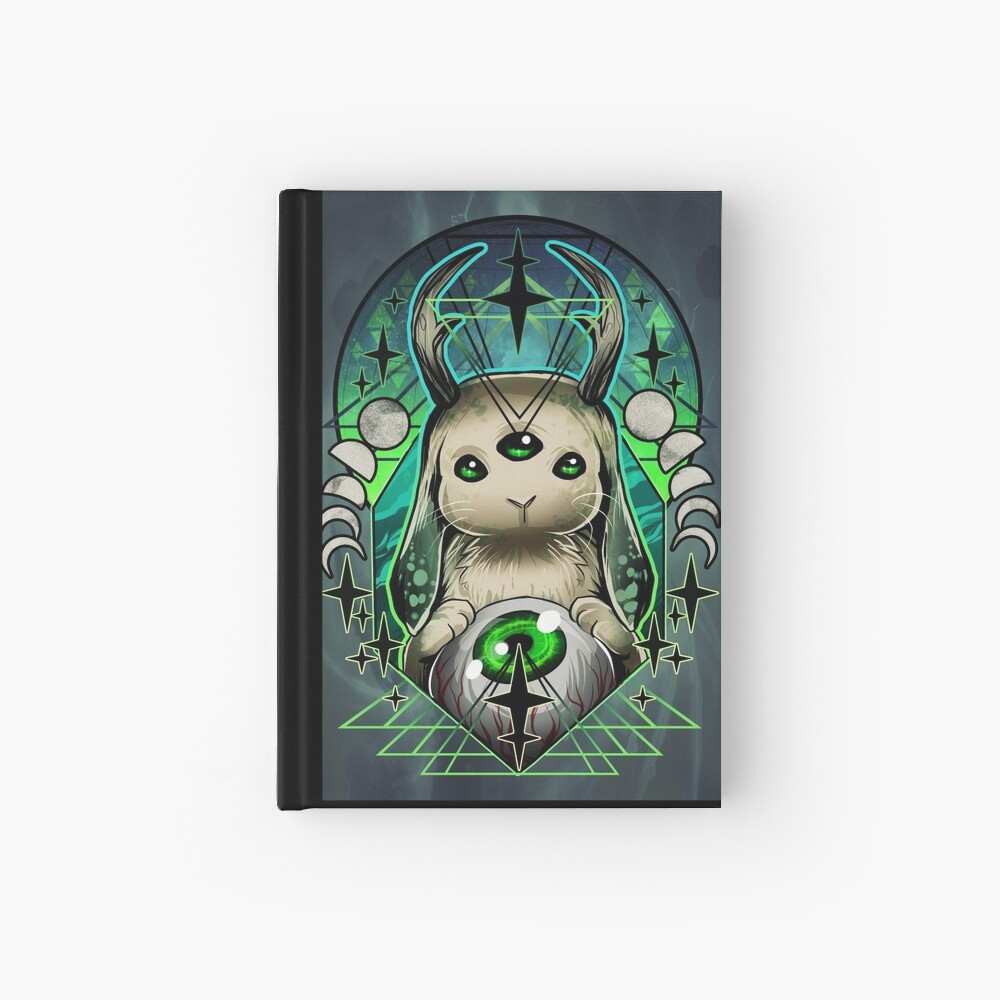 Space Bunny  Hardcover Journal