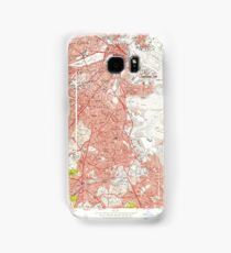 Massachusetts  USGS Historical Topo Map MA Boston South 350035 1956 24000 Samsung Galaxy Case/Skin