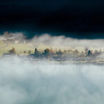 Autumn mists, Brienz, Switzerland by mhowellsmead