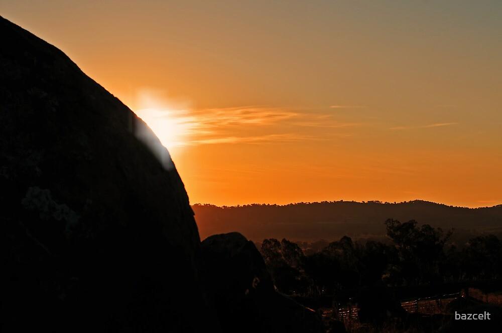 Last glimpse of the sun by bazcelt