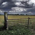 Storm clouds and gateways by Paul Hickson