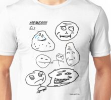 Rage Faces - Faan Awrt Unisex T-Shirt