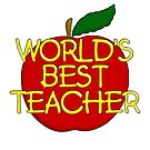 World's best teacher by bmgdesigns