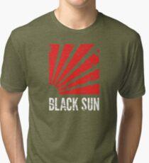 Black Sun T-Shirt Tri-blend T-Shirt