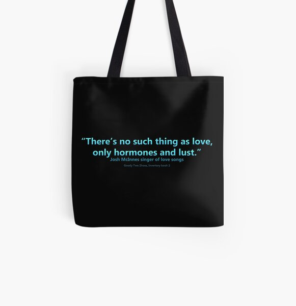 Josh's Wisdom All Over Print Tote Bag