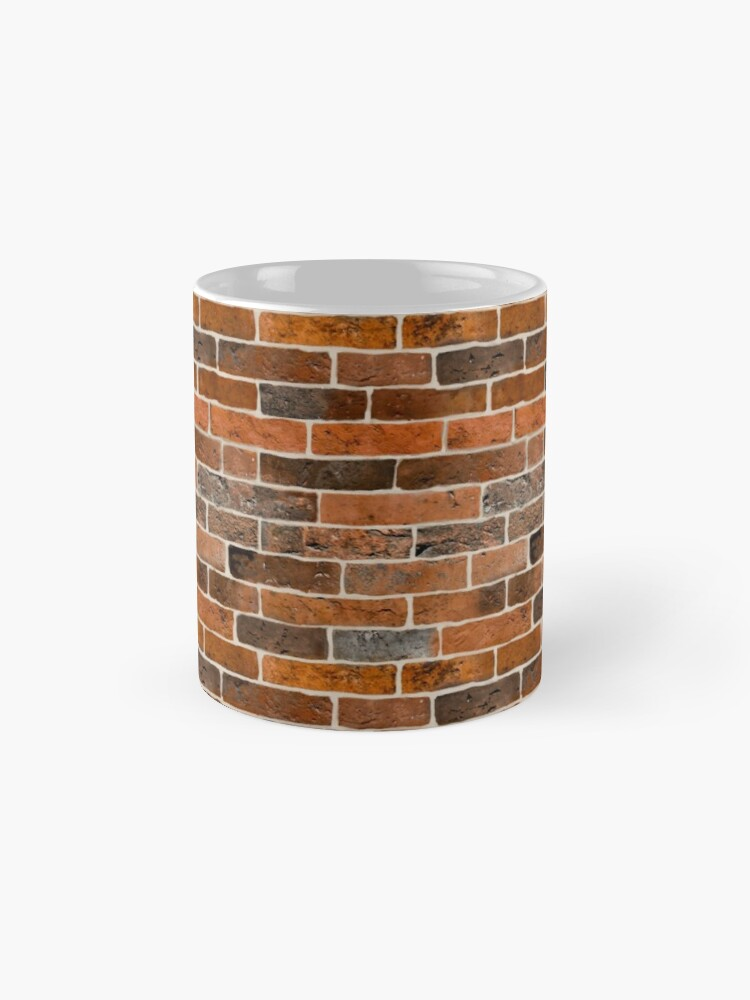 Alternate view of Brick Wall Mug