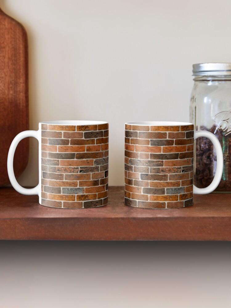 Alternate view of Brick Wall Mug