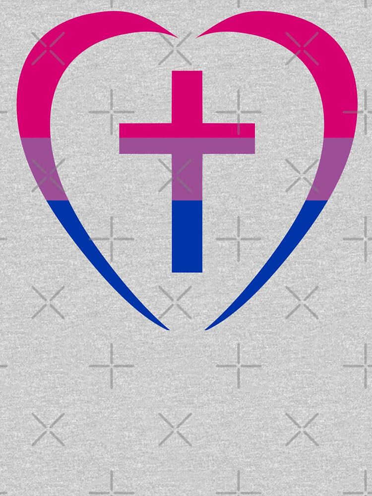 Christian Heart (Pink, Purple, Blue) Third Culture Series by carbonfibreme