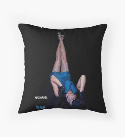 Shhow Pinup Gal Throw Pillow