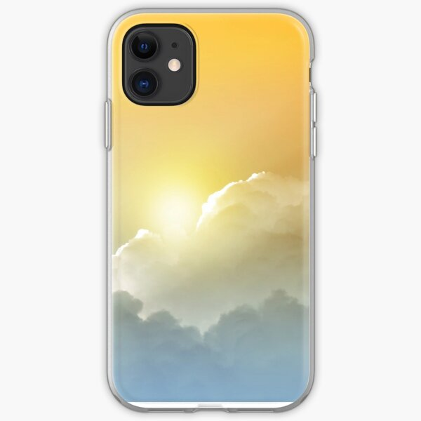 Sunset in the Clouds iPhone Soft Case