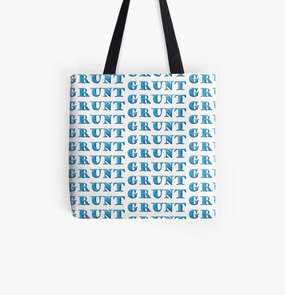 Grunt All Over Print Tote Bag