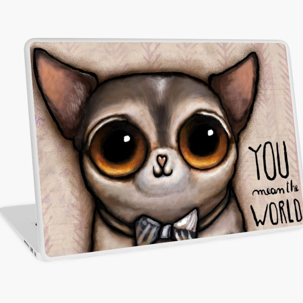 Little dog with big eyes chihuahua Laptop Skin