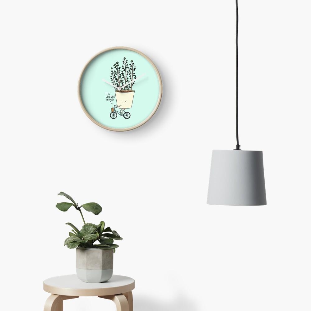 Leisure thyme Clock