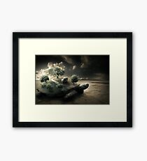 Life on the back of a shell Framed Print