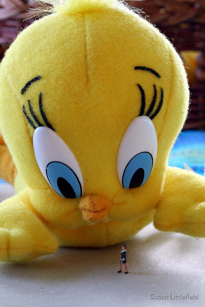 Whadda ya mean, do I tweet?!?!? by Susan Littlefield