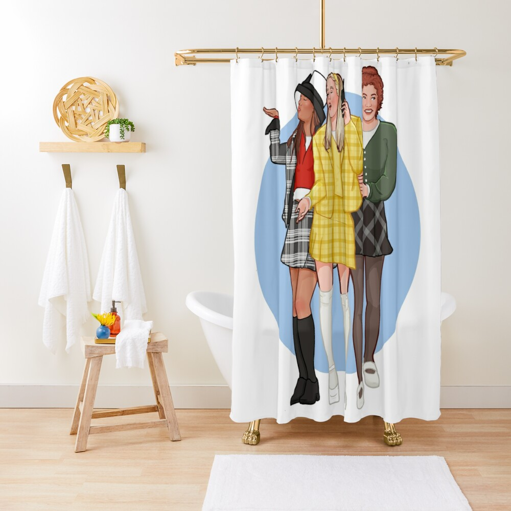 as if! Shower Curtain