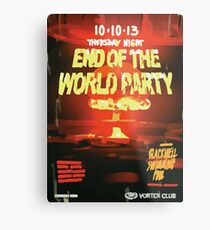 Vortex Club - Another End of the World Vortex Club Poster Metal Print