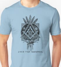 """Since Time Immemorial"" Masonic shirt Unisex T-Shirt"