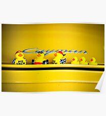 Yellow Ducks Racing picks a yellow car! Poster