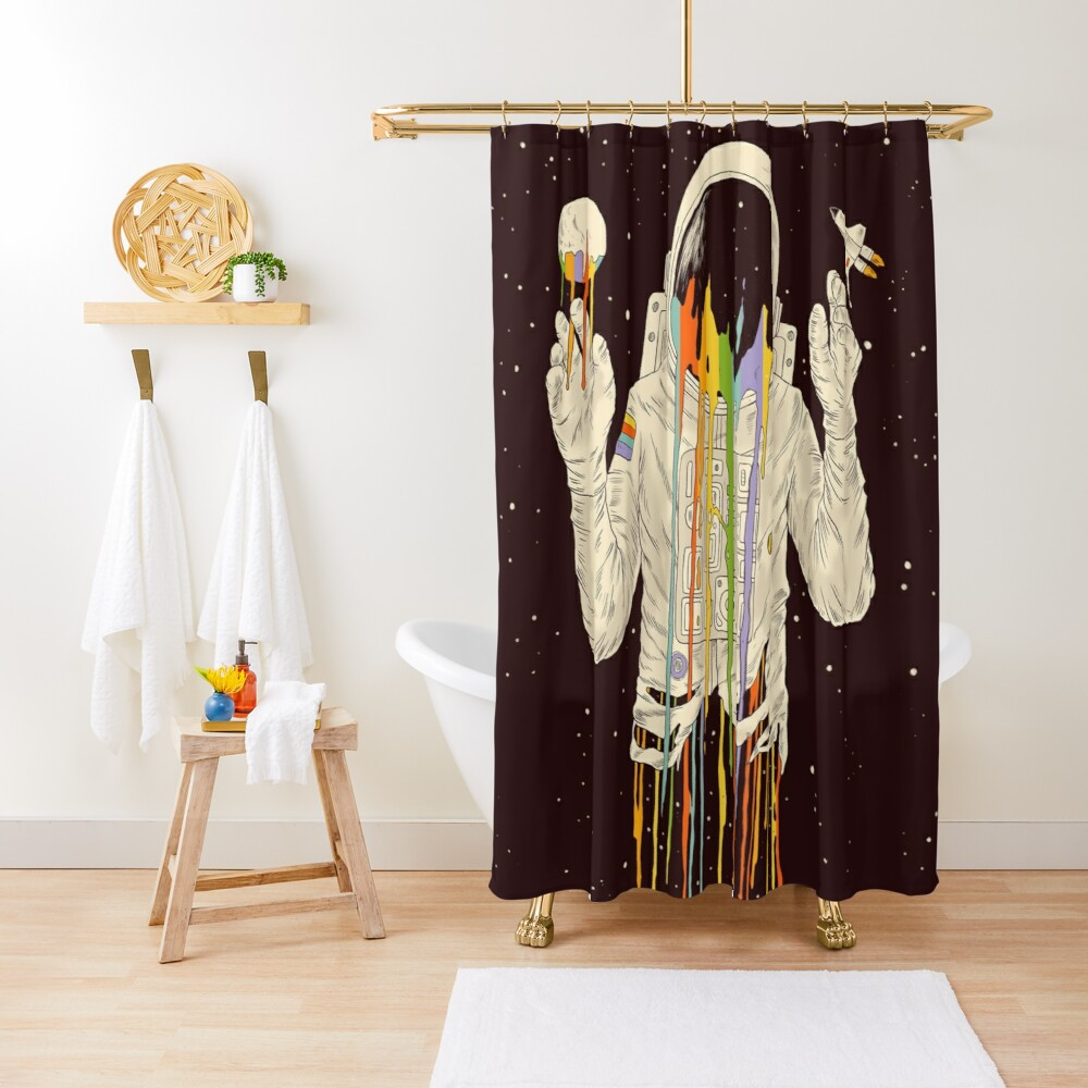 A Dreamful Existence Shower Curtain