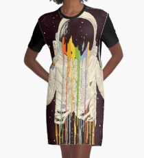 A Dreamful Existence Graphic T-Shirt Dress