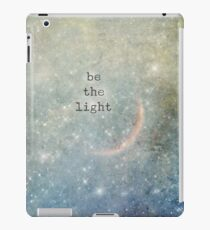 be the light iPad Case/Skin