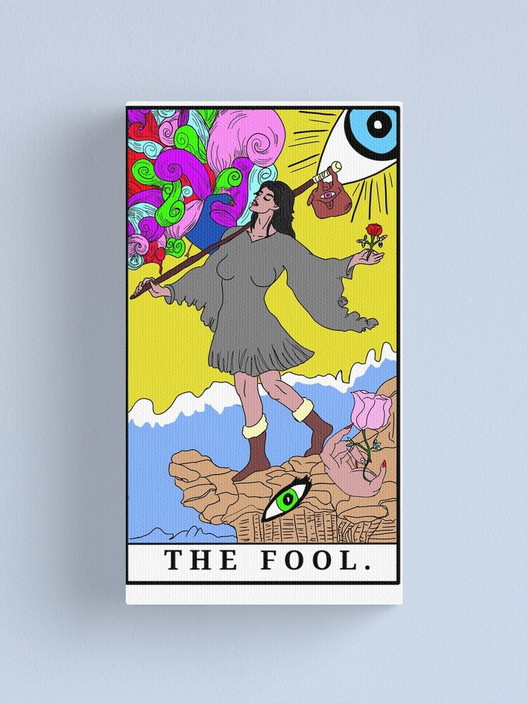 Alternate view of The Fool (c) A.R. Minhas 2018 Canvas Print