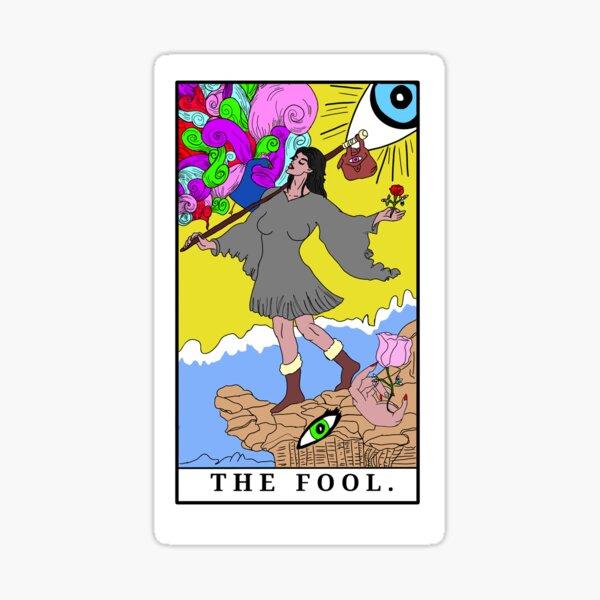 The Fool (c) A.R. Minhas 2018 Sticker