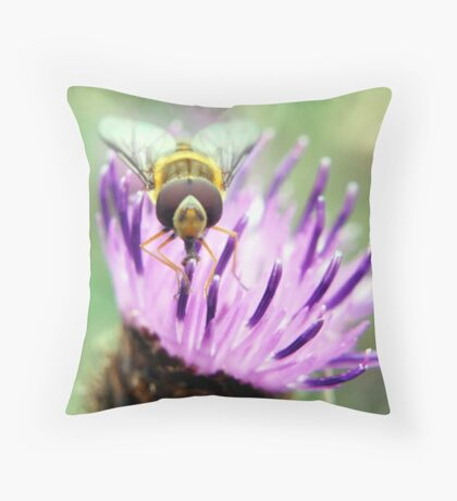What you lookin at?! Throw Pillow