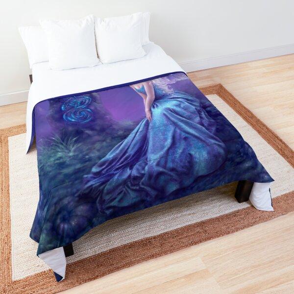Luminescent Fairy & Dragon Art Comforter