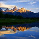 Grand Tetons by Justin Baer
