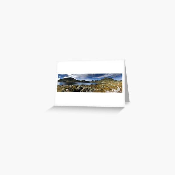 Cradle Mountain pano Greeting Card
