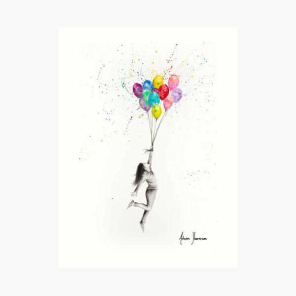 Her Big Dreams Art Print