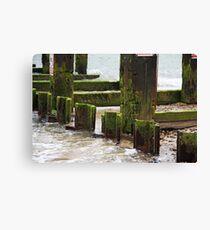 Sea Wash Canvas Print
