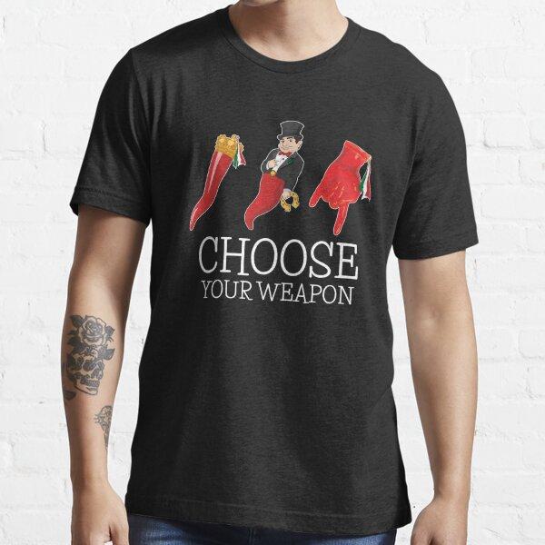 Italian Lucky Charms Scartellato Corna Italian Horn Essential T-Shirt
