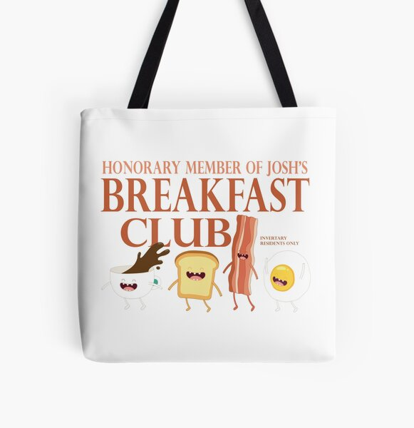 Breakfast Club All Over Print Tote Bag