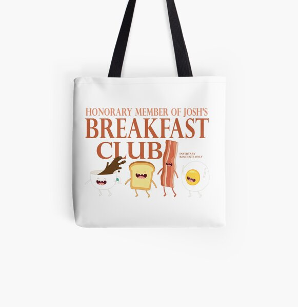 Breakfast Club All Over Print Tote Bag