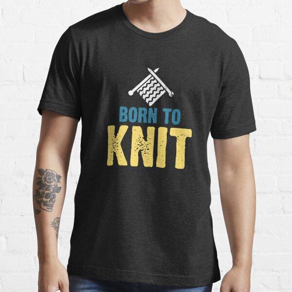 Knitting Essential T-Shirt