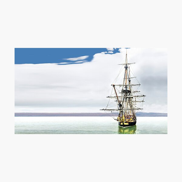 Hermione Frigate pano Photographic Print