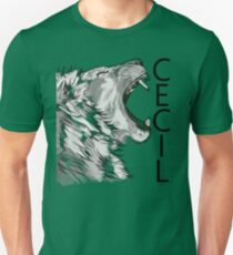 Memory of Cecil the Lion Roaring Unisex T-Shirt