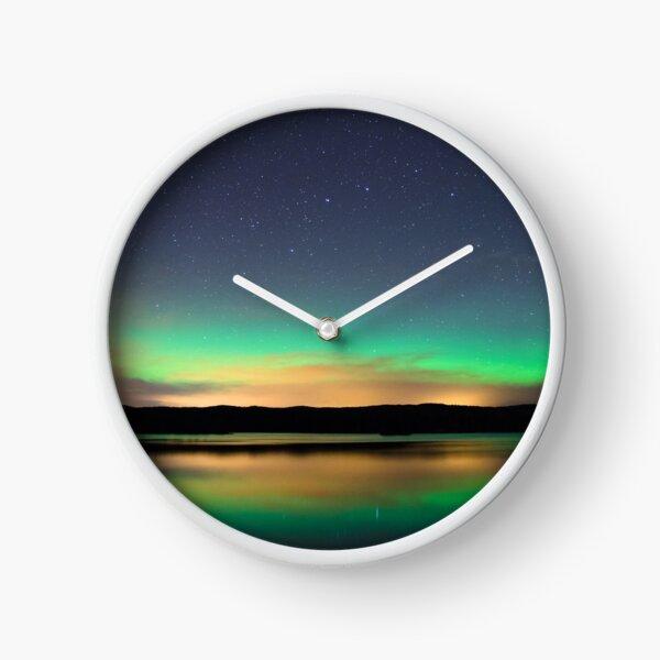 Still water and Lady Aurora Clock