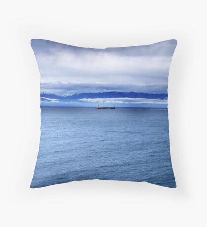 Safe Voyage Throw Pillow