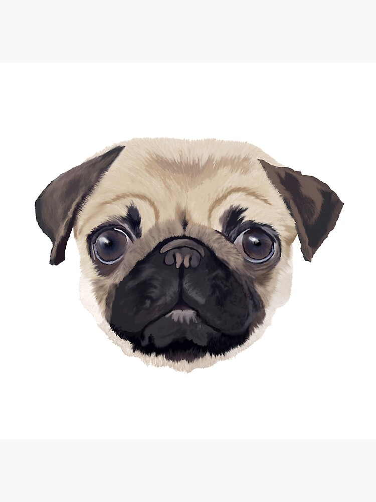 Pug Life en blanco de ArtistsQuest