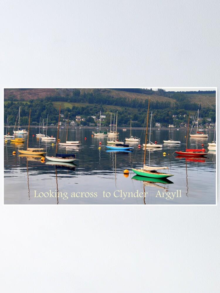 Alternate view of Looking towards Clynder Argyll Poster