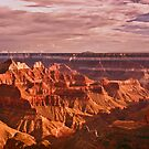 Sunset at Bright Angel Point by Linda Sparks