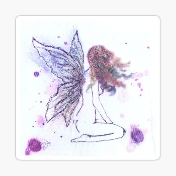 Naked Fairy Sticker